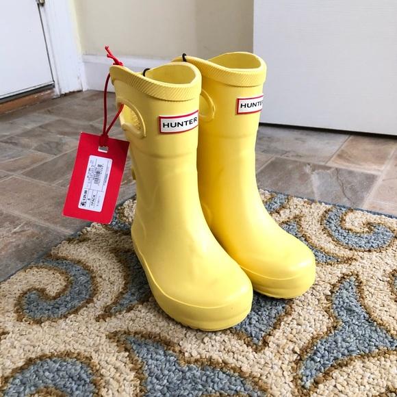 cbe6d0a09aa Hunter x Target rain boots toddler Sz 5 NWT